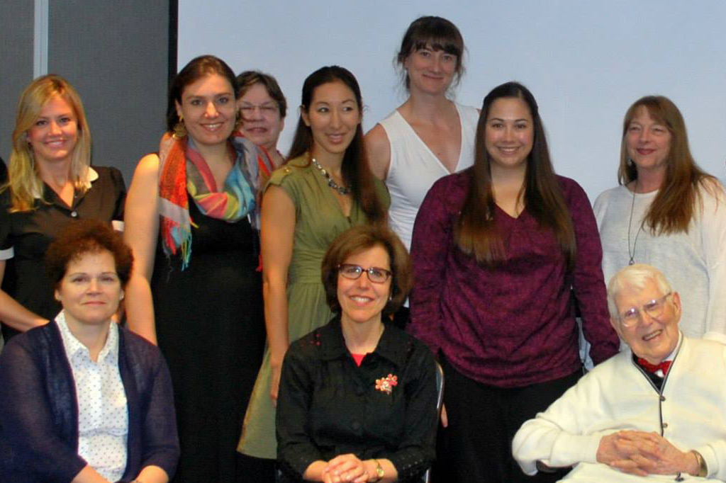 Dr. Donna Sudak, Dr. Judith Beck, Christine Uchida (TeleCBT) & Dr. Aaron Beck  (Beck Institute)